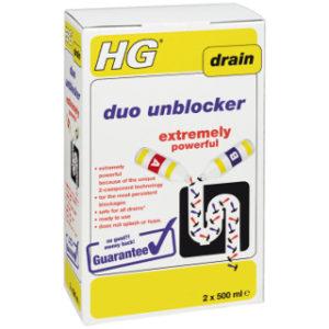 2 x 500ml DUO UNBLOCKER HG