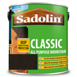 1L EBONY ALL PURPOSE CLASSIC WOODSTAIN SADOLIN
