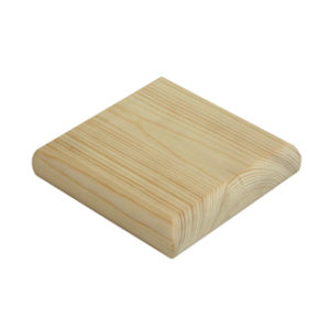 90mm PINE FLAT NEWEL CAP