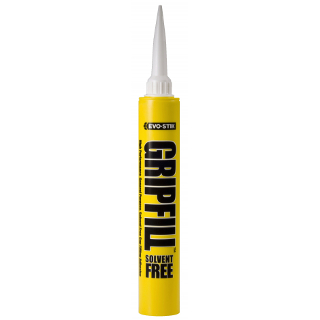 GRIPFILL SOLVENT FREE 350ml CARTRIDGE