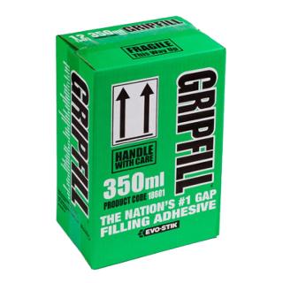 BOX OF 12 GRIPFILL 350ml CARTRIDGE