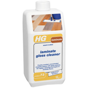 1L SHINE 1L LAMINATE GLOSS CLEANER HGRESTORING TILE CLEANER HG