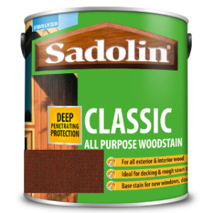 1L MAHOGANY ALL PURPOSE CLASSIC WOODSTAIN SADOLIN