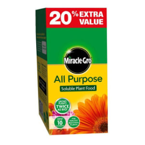 1kg (+ 20% EXTRA) PLANT FOOD MIRACLE-GRO