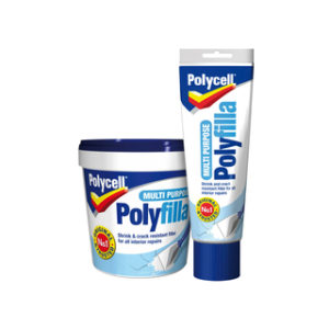 600g MULTI PURPOSE POLYFILLA TUB POLYCELL