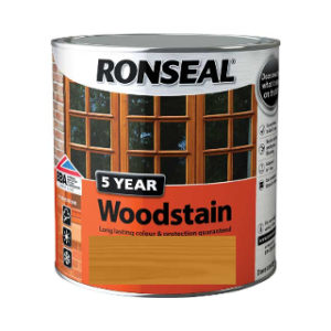 750ml NATURAL OAK SATIN 5 YEAR WOODSTAIN RONSEAL