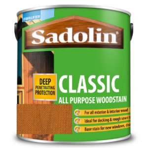 1L NATURAL ALL PURPOSE CLASSIC WOODSTAIN SADOLIN