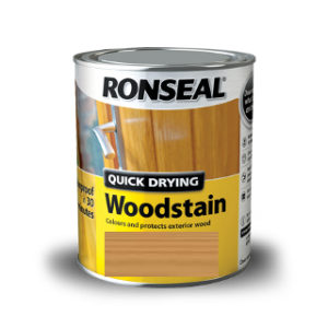 250ml NATURAL PINE SATIN QUICK DRY WOODSTAIN RONSEAL