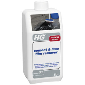 1L NATURAL STONE CEMENT & LIME FILM REMOVER HG