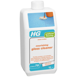 1L ARTIFICIAL FLOORING GLOSS CLEANER HG
