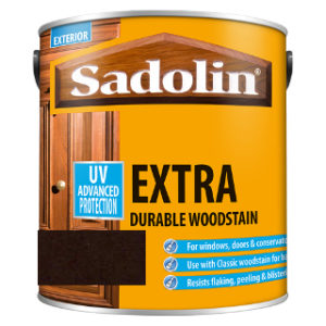 1L DARK PALISANDER EXTRA DURABLE WOODSTAIN SADOLIN