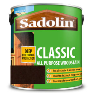 1L DARK PALISANDER ALL PURPOSE CLASSIC WOODSTAIN SADOLIN
