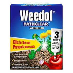 3 TUBES WEEDOL PATH CLEAR