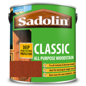 1L REDWOOD ALL PURPOSE CLASSIC WOODSTAIN SADOLIN