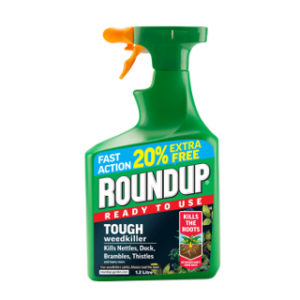 1L (+ 20% FREE) ROUNDUP TOUGH WEEDKILLER