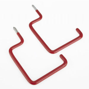 Pk.2 SCREW-IN UTILITY HOOKS ROTHLEY