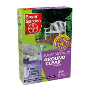 Pk. 6 SUPER STRONG GROUND CLEAR BAYER GARDEN