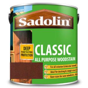 2.5L TEAK ALL PURPOSE CLASSIC WOODSTAIN SADOLIN