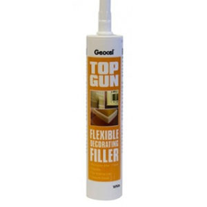 WHITE FLEXIBLE DECORATING FILLER CARTRIDGE TOPGUN