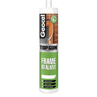 WHITE FRAME SEALANT CARTRIDGE TOPGUN