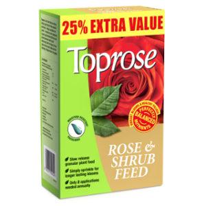 1kg ( + 25% EXTRA) TOPROSE FOOD BAYER GARDEN