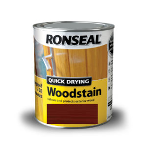 2.5L WALNUT SATIN QUICK DRY WOODSTAIN RONSEAL
