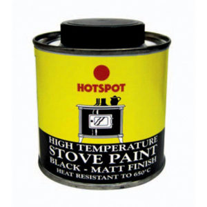 200ml BLACK STOVE PAINT