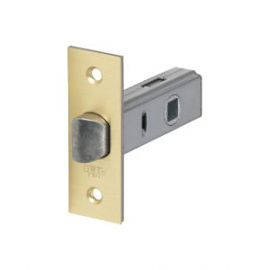 45mm TUBULAR LATCH POLISHED BRASS