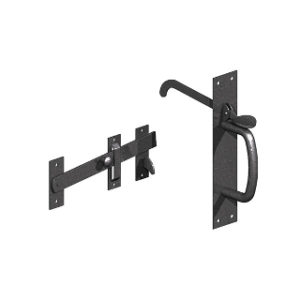 BLACK SUFFOLK LATCHES