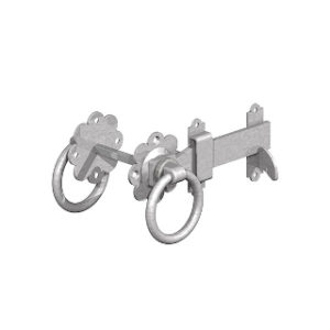 150mm GALVANISED RING GATE LATCHES