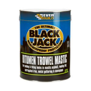 1L BITUMEN TROWEL MASTIC BLACK JACK 903