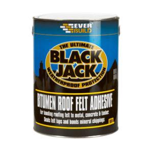 2.5L FELT ADHESIVE BLACK JACK 904