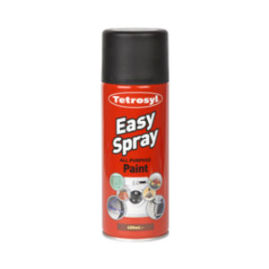 400ml MATT BLACK EASY SPRAY PAINT