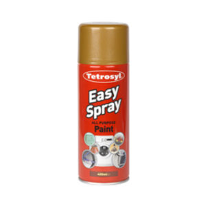 400ml BRIGHT GOLD EASY SPRAY PAINT