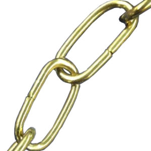 2m 2mm DECORATIVE CHAIN BRASS