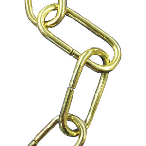 2m 2.5mm DECORATIVE CHAIN BRASS