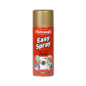 400ml GOLD EASY SPRAY PAINT