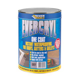 2.5Kg GREY EVERCRYL ONE COAT