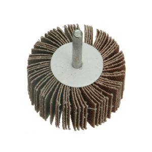 60mm x 40mm MEDIUM ABRASIVE FLAP WHEEL