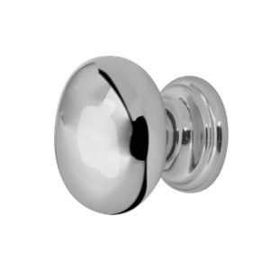 35mm CUPBOARD KNOB POLISHED CHROME