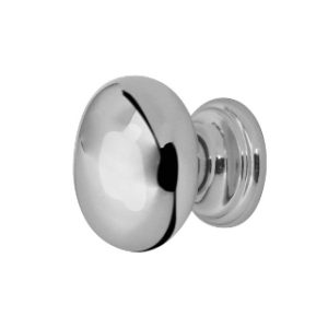 25mm CUPBOARD KNOB POLISHED CHROME