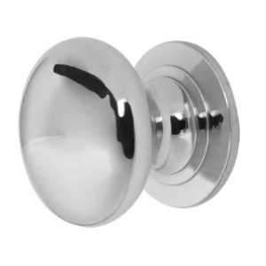 50mm CUPBOARD KNOB POLISHED CHROME