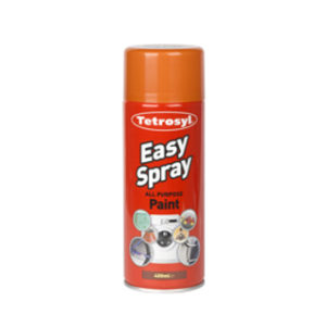 400ml ORANGE EASY SPRAY PAINT
