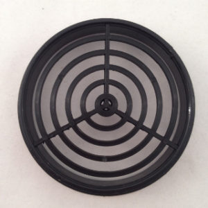 BLACK PUSH-IN ROUND SOFFIT VENT