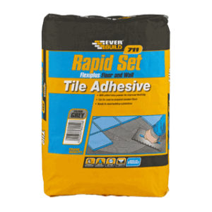 10Kg 711 RAPID SET FLEXIPLUS TILE ADHESIVE