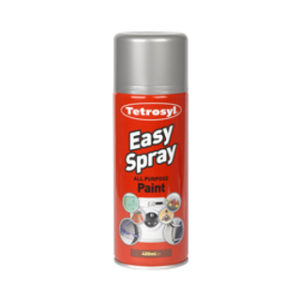 400ml SILVER CHROME EASY SPRAY PAINT