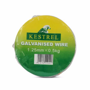 0.5Kg x 1.25mm GALVANISED WIRE