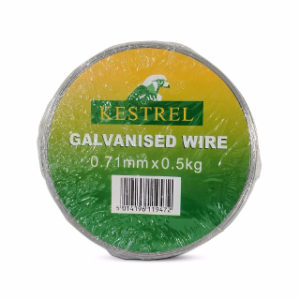 0.5Kg x 0.71mm GALVANISED WIRE