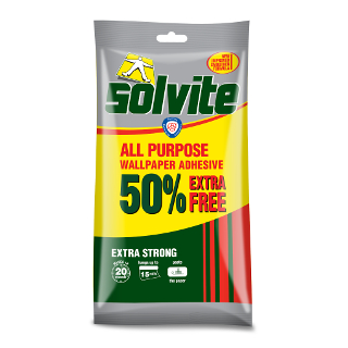 277g WALLPAPER PASTE SOLVITE