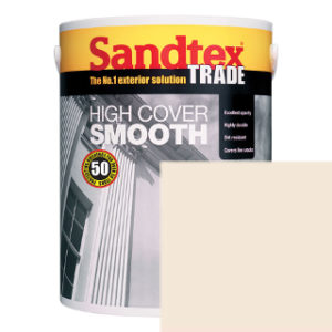 5L MAGNOLIA SMOOTH MASONRY PAINT SANDTEX